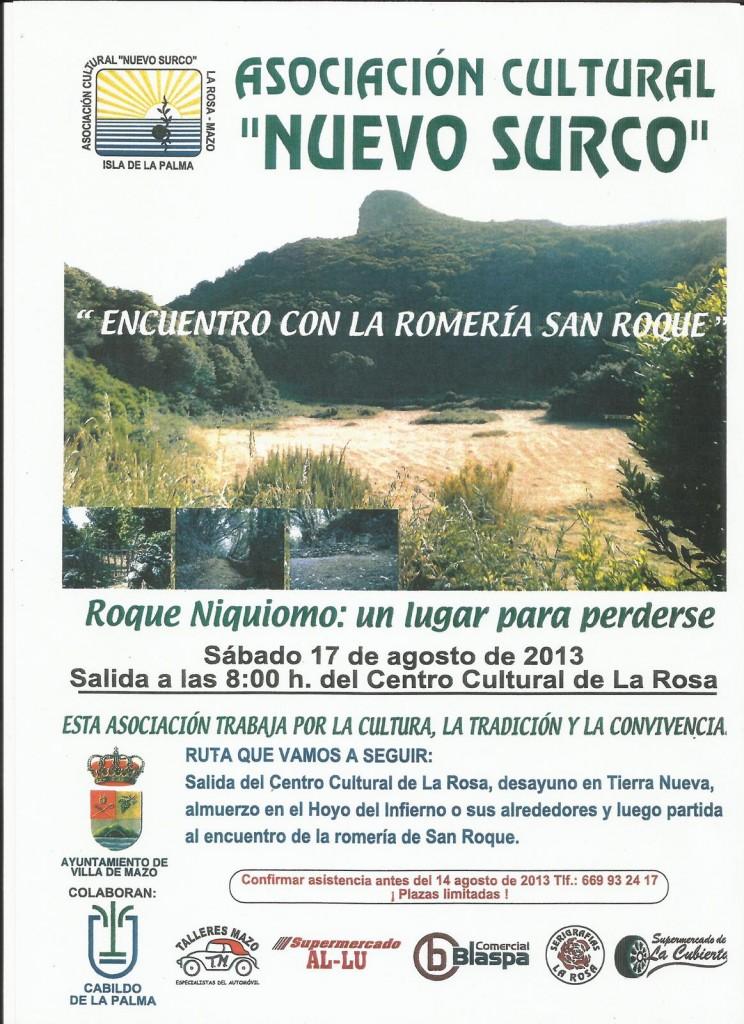 ENCUENTRO CON LA ROMERIA SAN ROQUE -17 AGOSTO 2013